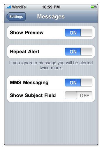 Как сделать в айфоне ммс