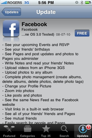 facebook-3-for-iphone-update