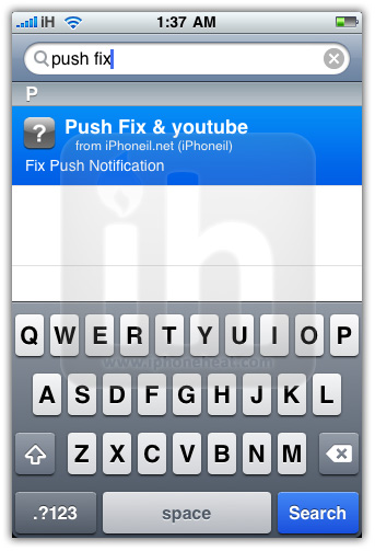 Push & YouTube Fix for iPhone OS 3 1 2 BlackSn0w Unlock - iPhoneHeat