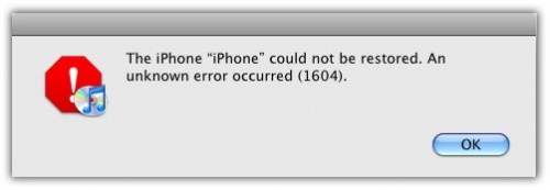 fix error 16xx 29 iphone custom firmware