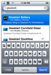 glasklart winterboard theme