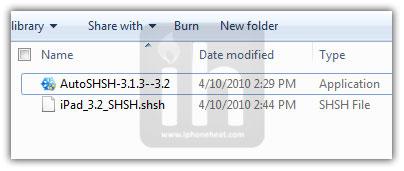 autoshsh ipad 3.2 shsh