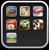 iphone os 4 folders