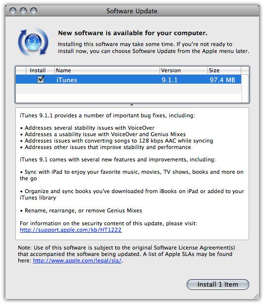 itunes 9.0.3.15 para windows vista xp y 7 gratis