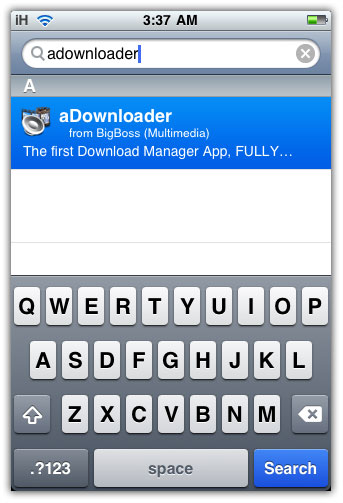 You can download aDownloader from Cydia for Free! You iPhone must be ...