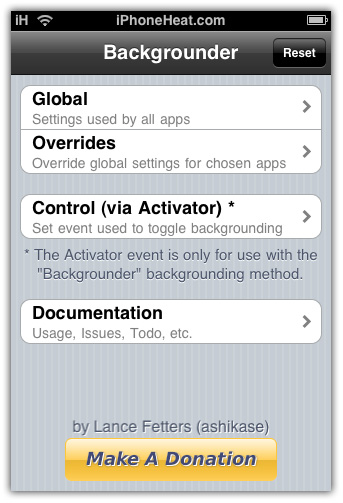 Backgrounder Svn R  Run Application In Background Iphone Ipad Ipod Touch