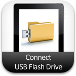 connect flash drive ipad