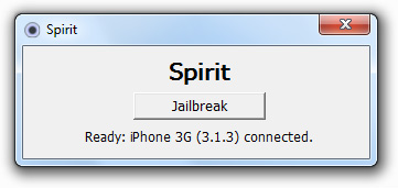 spirit jailbreak iphone 3.1.3