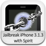 jailbreak iphone os 3.1.3 spirit