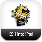 ssh into ipad