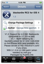 blacksn0w rc2 ios 4