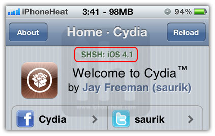 save shsh blobs cydia