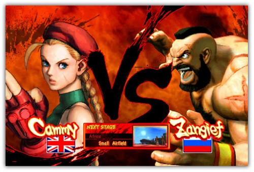 street fighter IV new character