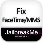 fix facetime mms jailbreakme