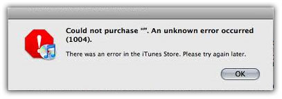 itunes error 1004 Cara downgrade iphone 4 3GS 4.1 to 4.0.1