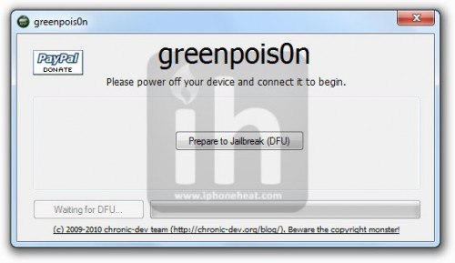 greenpois0n jailbreak