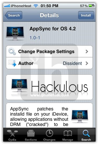 4 1 My Fall Uniform: AppSync 4.2 For IOS 4.2.1 To Install Cracked Apps