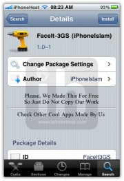 enable facetime on 3gs