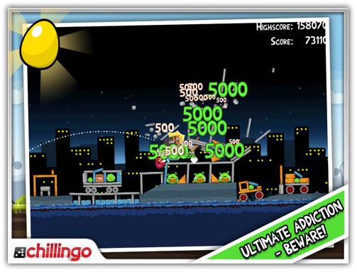 Angry Birds HD 1.5 for iPad