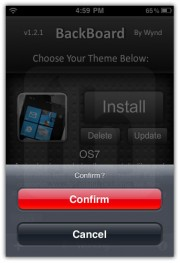 Windows Phone 7 Theme for iPhone