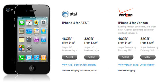 preorder your verizon iphone 4 now