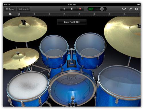GarageBand for iPad 2 and iPad Hits the App Store - iPhoneHeat