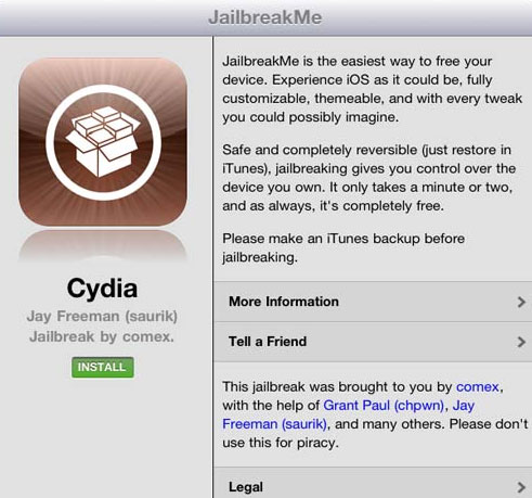 jailbreakme 3.0 ipad 2
