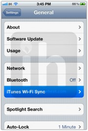 wirelessly sync iphone itunes 2