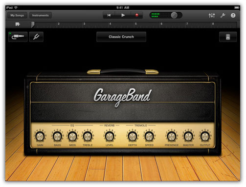 GarageBand and iPhone 4