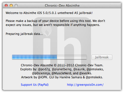 jailbreak iphone 4s absinthe 6