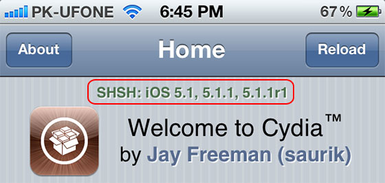 save ios 5.1.1 shsh blobs cydia