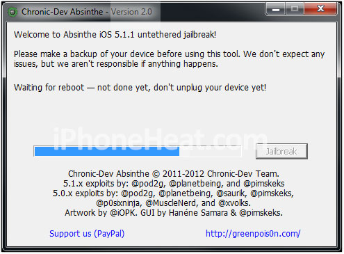 jailbreak-ipad-3-5.1.1-absinthe rebooting