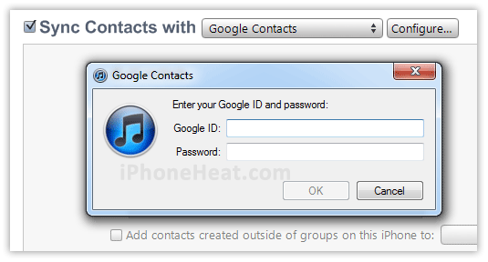 backup iphone contacts to gmail 2