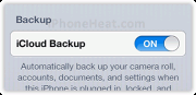 backup iphone contacts to icloud 5