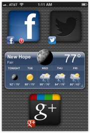 iOS X Ultimatum theme for iPhone 3