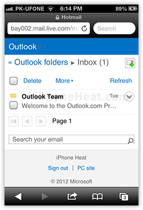 How to Setup Outlook Email ~ My iPhone Mobile