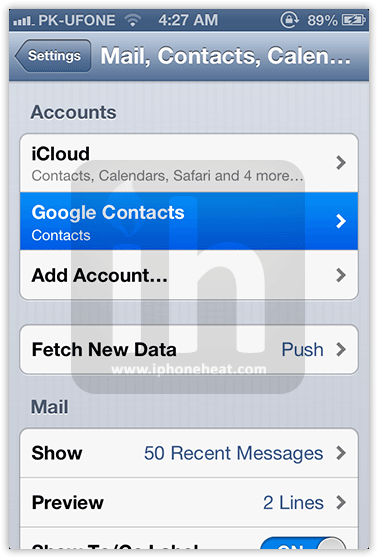 s7 how to make google default for contacts