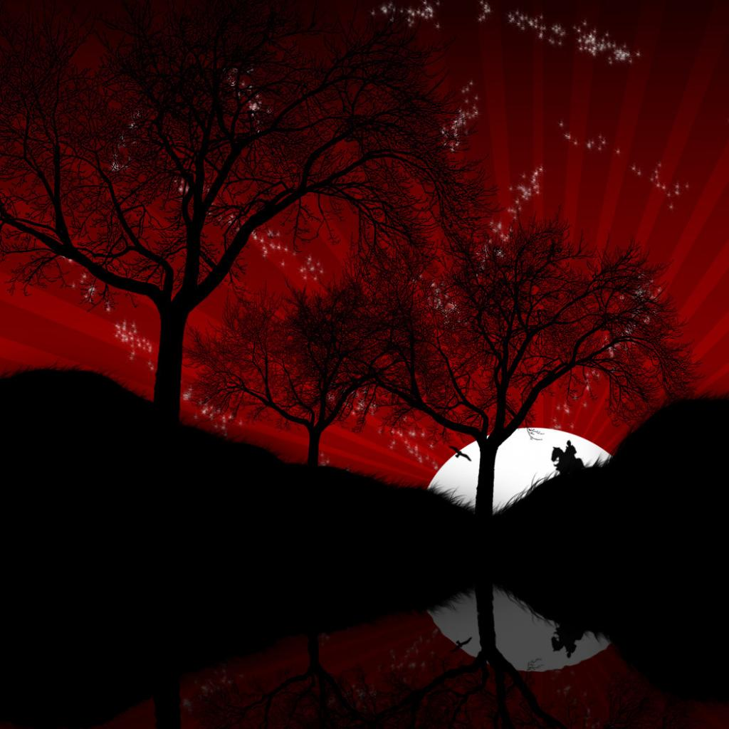 red moons on thumbnails - photo #24
