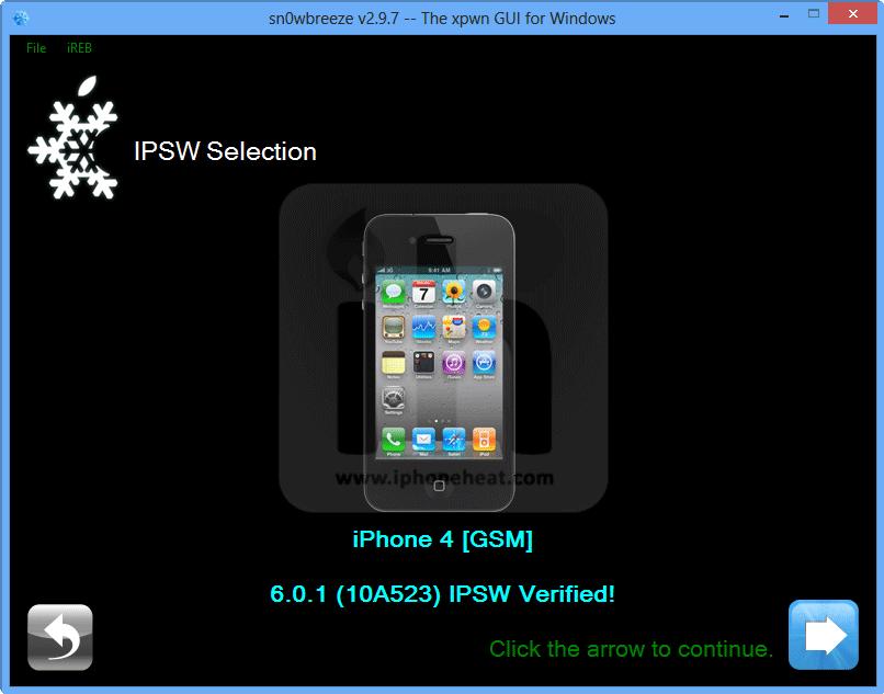 iphone 4 custom firmware ios 6