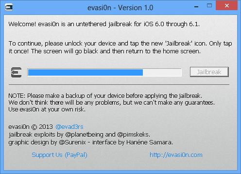 jailbreak ipad 4 3 2 6.1 evasi0n 7