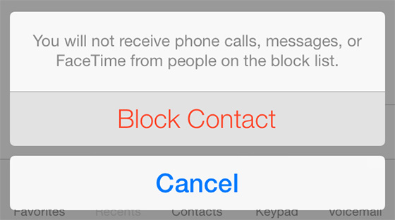 blocking calls on iphone ios 7 brings call blocking to iphone iphoneheat 13676