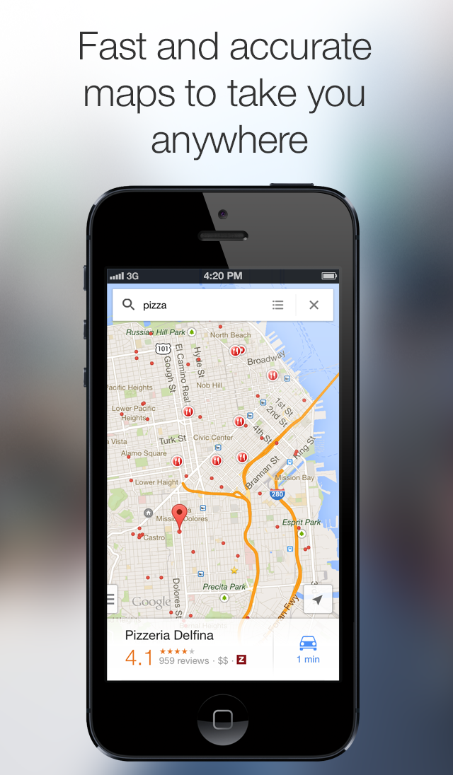 Download Google Maps 2.0, Includes iPad support, Indoor Maps ... on
