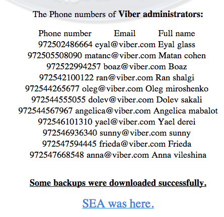 viber support hacked 3
