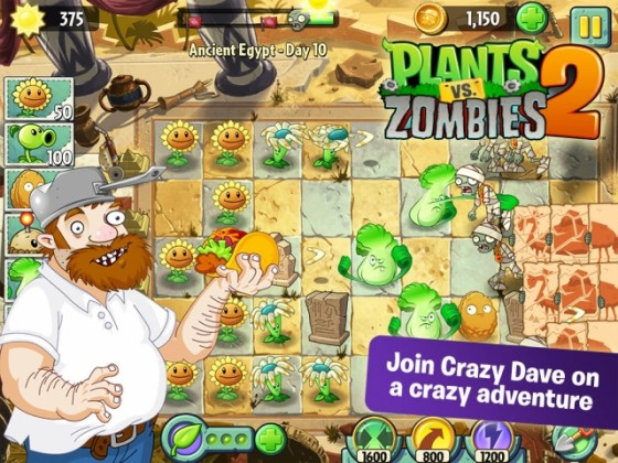 Plants vs Zombies 2 1