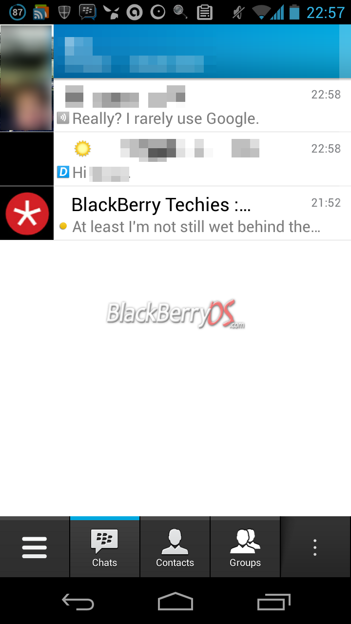 BlackBerry Messenger (BBM) Beta for iOS Invites Rolling Out Today - iPhoneHeat