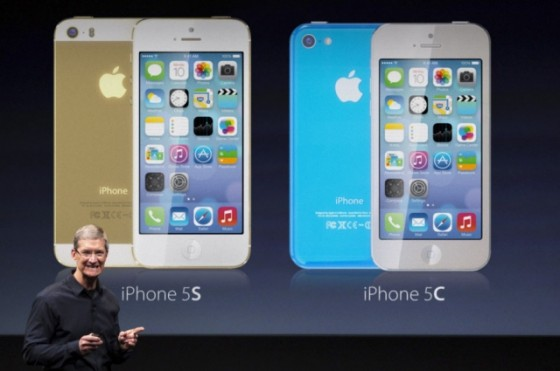 iphone 5s 5c mockup