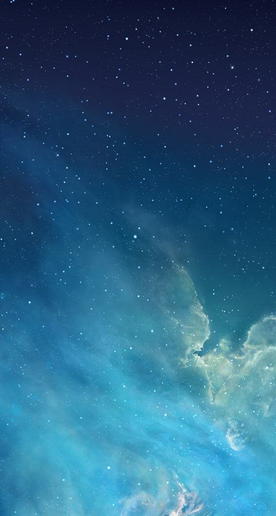 iOS 7 wallpaper 1