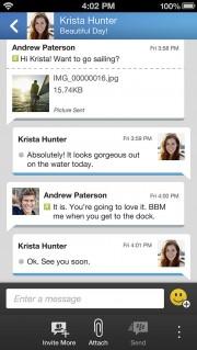 bbm iphone 2