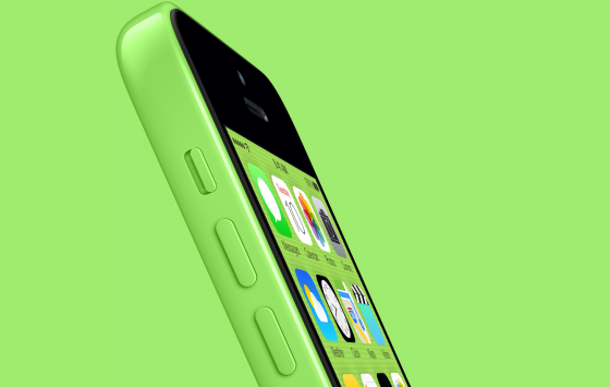 green-iPhone-5c-side