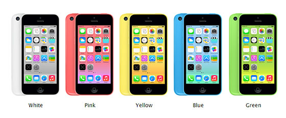 iphone 5c specifications